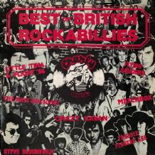 Various - best of British Rockabillies - Neo-Rockabilly Charly/Rockhouse 1979 VG/EX